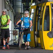 Mountainbiken Gondelbahn