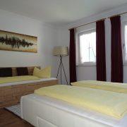 Schlafzimmer 2 von 2 Apartment Edelweiss