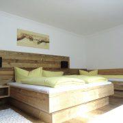 Schlafzimmer 1 von 2 Apartment Edelweiss